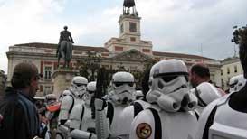 La Legión 501 en la Puerta del Sol
