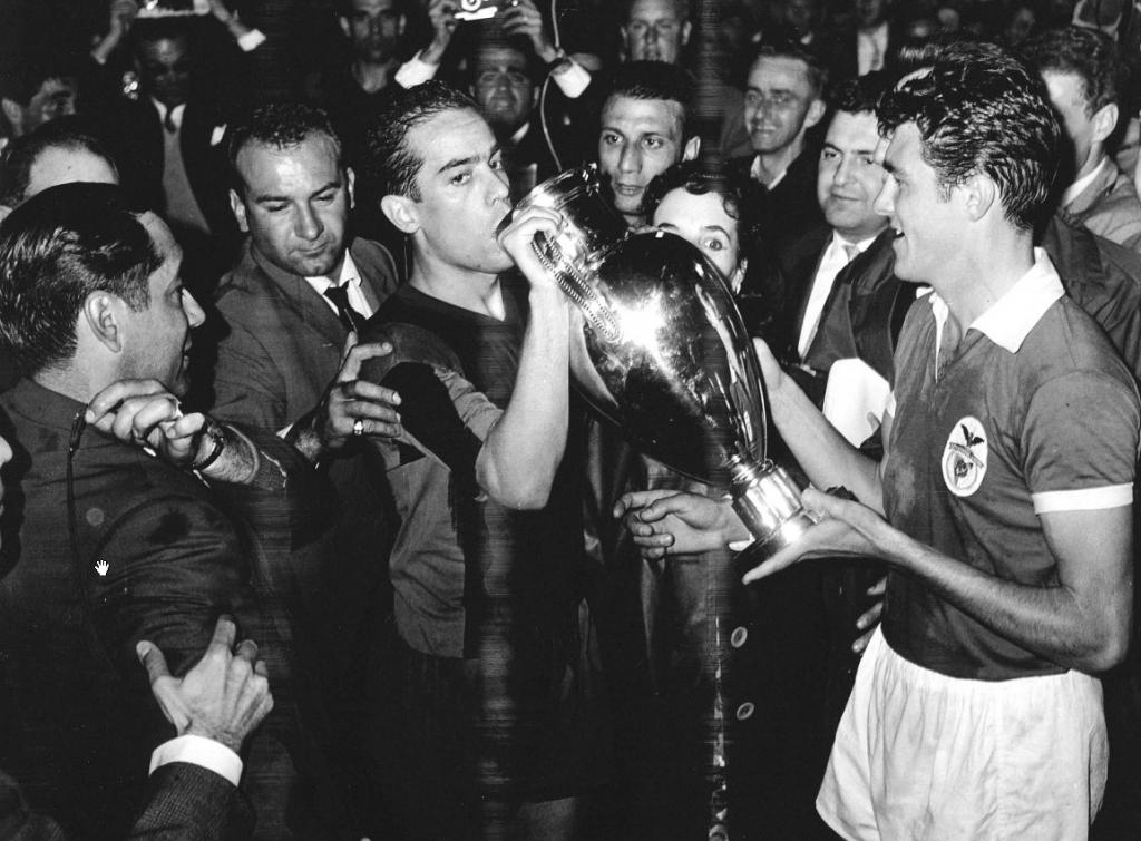 Benfica, final de 1961 frente al Barcelona