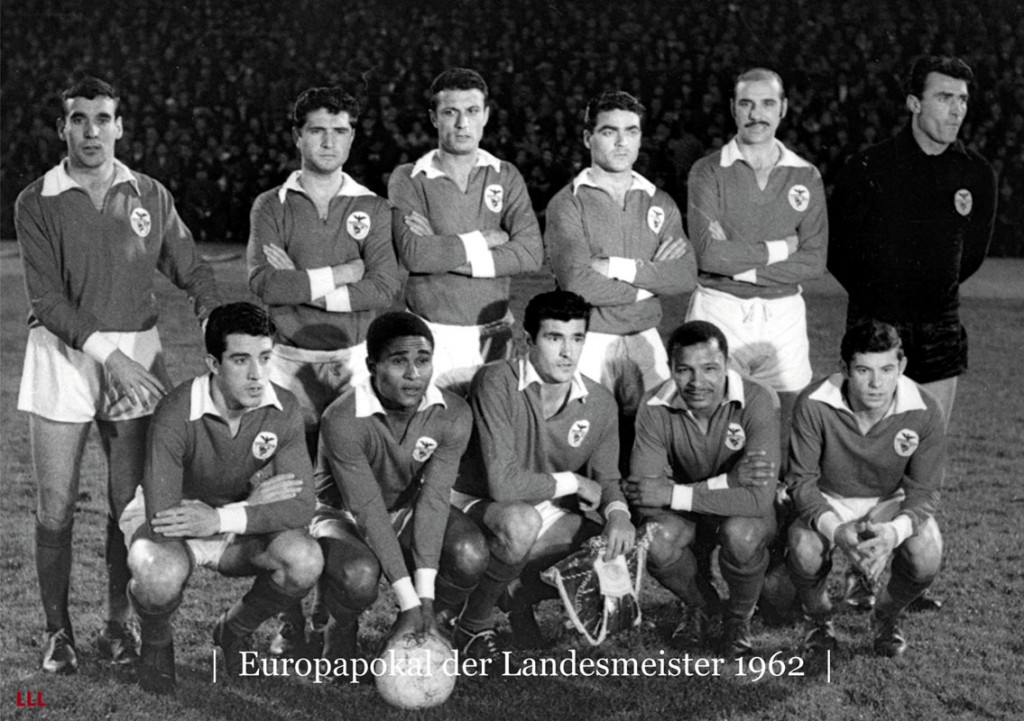 Benfica, plantilla de 1962