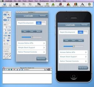 LiveCode ejecutándose en un Mac