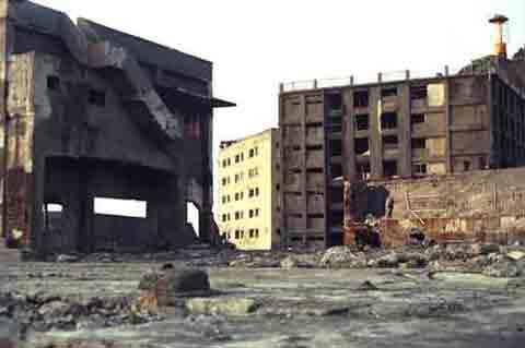 Edificios en Gunkanjima