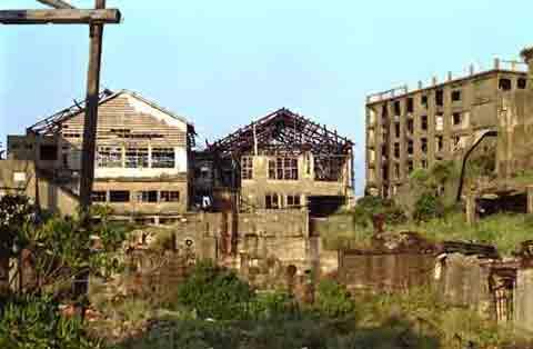 Gunkanjima edificios